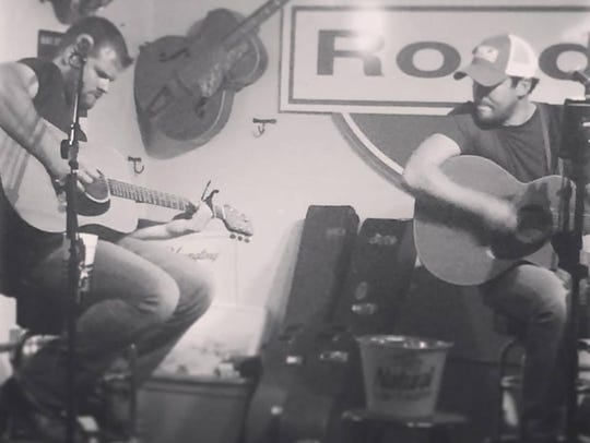 Brent & Kyle are performing country hits at Stratford