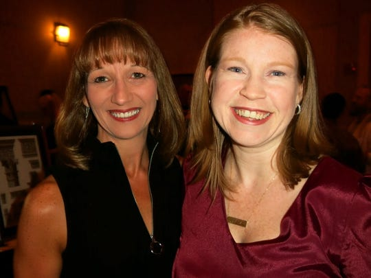 Times editors Barbara Leader and Michele Marcotte at