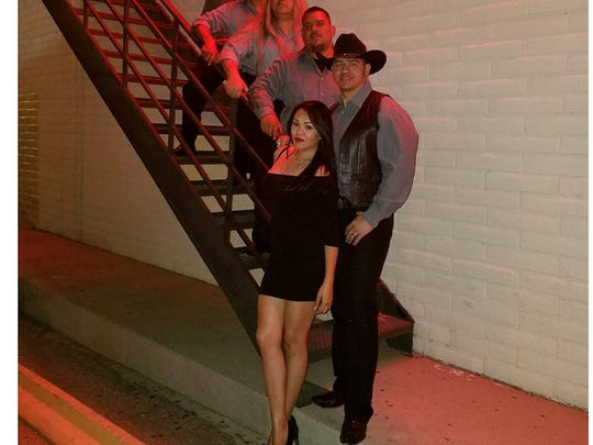 """Frequency"" from El Paso, Texas will play country music inside Billy the Kid Casino Saturday night at 7 p.m."