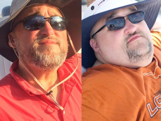 Marcus Cook, 44, has lost more than 220 pounds. He will compete in Sunday's River Cities Triathlon at Cypress Park.