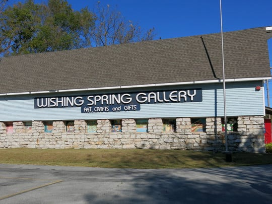 Wishing Spring Gallery, has fine regional crafts at