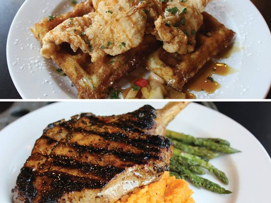 Abby Singer's Bistro will offer a daily lunch special of chicken & waffles and a $20 dinner special of  bone-in pork chop as part of 318 Restaurant Week Oct. 1-5.