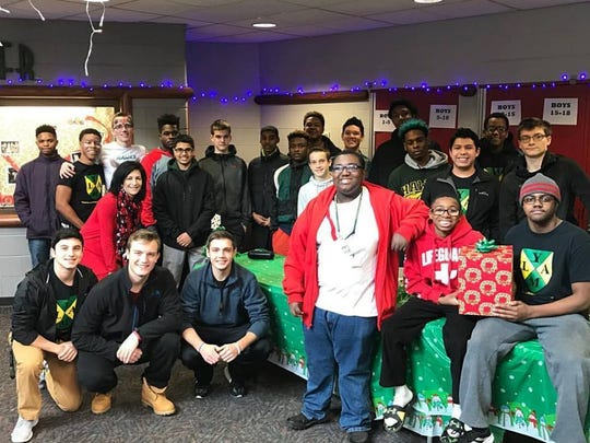 Young Men's Leadership Academy volunteers made sure families and kids had a good day.