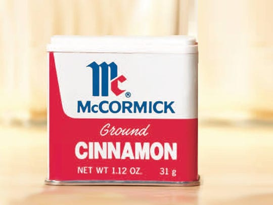 When in doubt, toss it out. McCormick stopped using tins for its spices and herbs at least 25 years ago. They only use tin now for pepper.