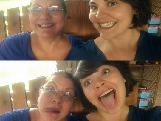 Jacqui Valdez and her mother Maggie Lumpp.