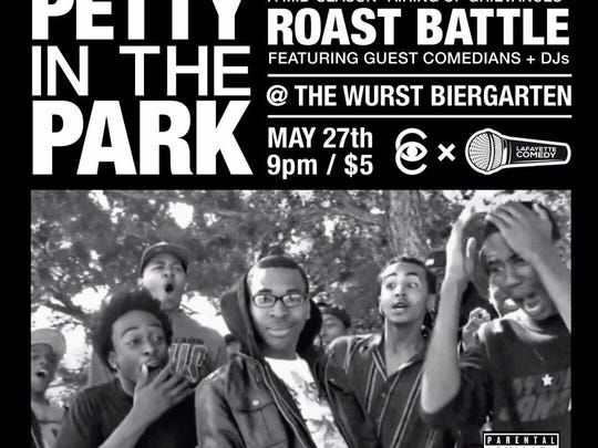 Clandestine Collective and Lafayette Comedy team up for a roast battle May 27.