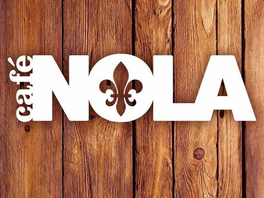 Cafe NOLA logo.