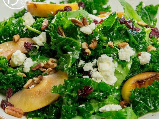 Grilled apple salad from PJ's-SentryWorld.
