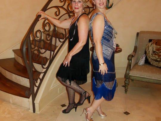 Julie Zadeck and Dr. Angela Cornelius, chairwomen