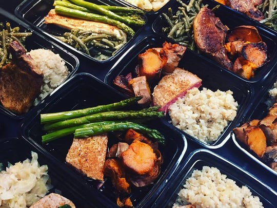 Rachael's Fit Meals allow you to pick a protein and two sides for customization in meal prep.