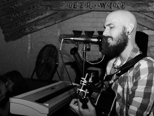 Lyricist and frontman Garrett Garnett