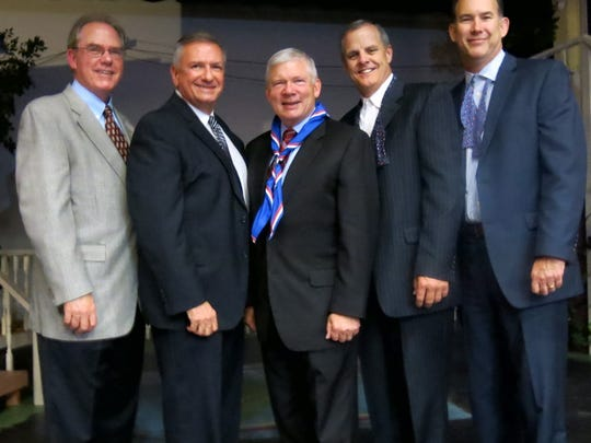 Blanchard Walker law firm's legal eagles celebrate the centennial