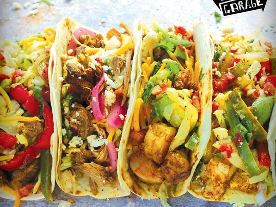 Taco Garage will open Saturday, Dec. 2, 2017, at the