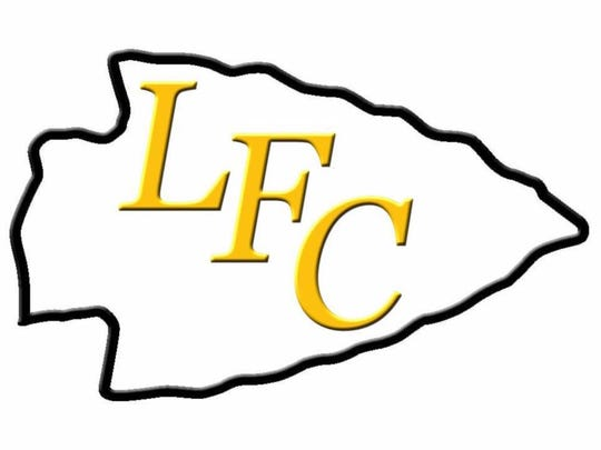 The Lebanon Friendship Chiefs youth football team logo.
