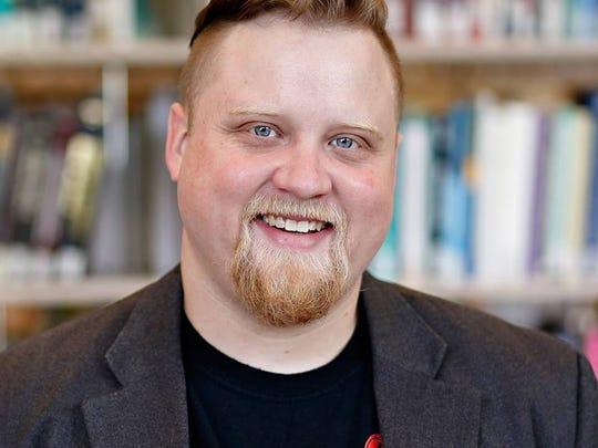 Adam Henze, local artist and educator.