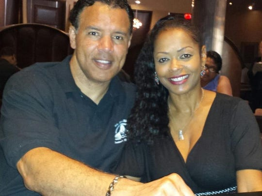 Maronald and Sharon McDougle celebrated their 25th