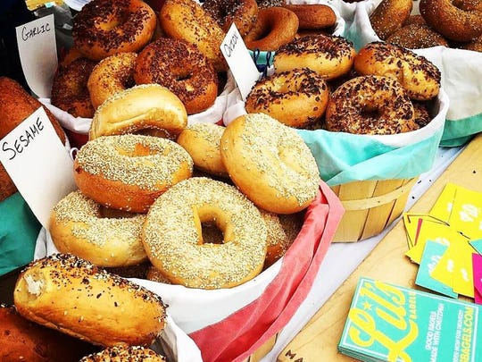 Bagels from Lil's Bagels of Covington