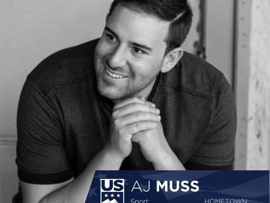 A.J. Muss' Olympic Team portrait by Fiona Mullen Photography