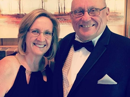 Pictured are Marcia and John Smith. John Smith died on Jan. 25 after a battle with pulmonary fibrosis. He was 72.