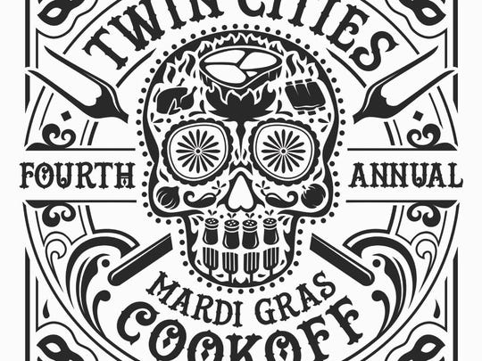 The Twin Cities Mardi Gras Cookoff will be this weekend.