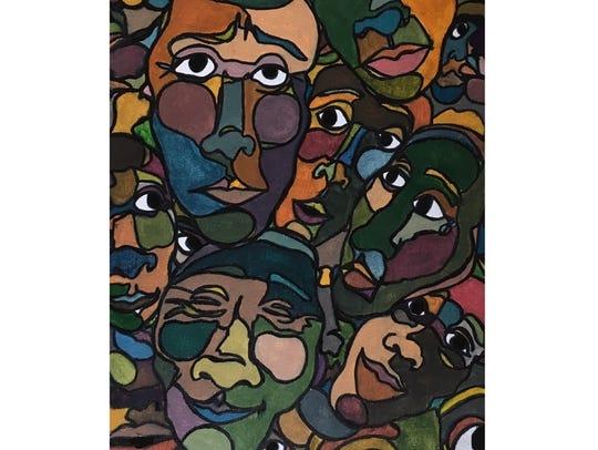 Disassociation by Lizzie Benjamin