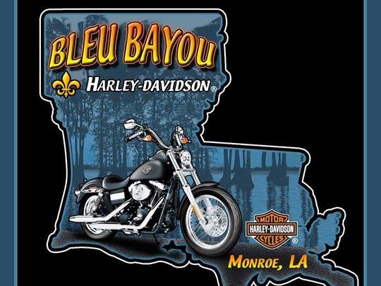 Food, music and dogs will be at Bleu Bayou Harley-Davidson.