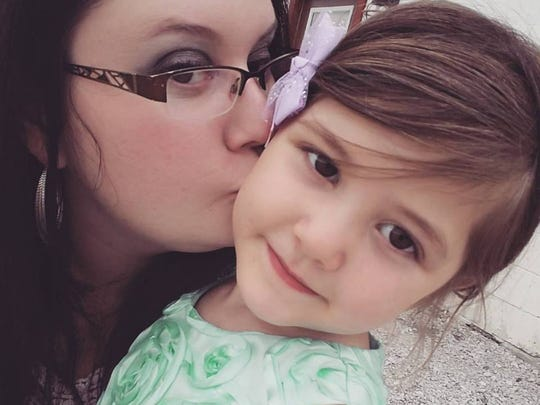 Courtney Jayne is shown with her daughter, Maggie Zaiger. Maggie drowned in Falls Park in Sioux Falls, South Dakota, in 2018.
