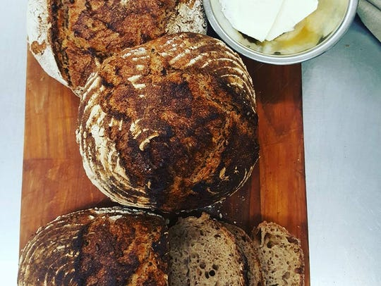 One Love Bread's Caraway Rye Sourdough.
