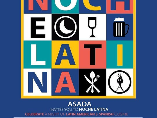 ASADA will host its annual Noche Latina from 5 - 9