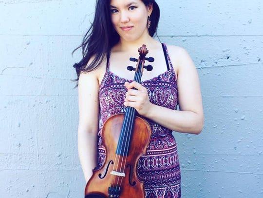 Rachell Ellen Wong is a young world-class violinist
