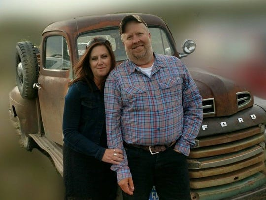 Jenn and Pat Volkmar