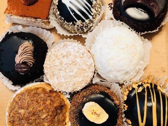 A selection of desserts served at Bella's Cafe in Barnegat.