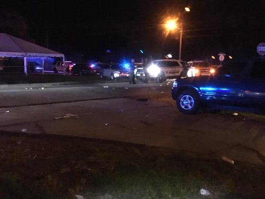 Deputies are still looking for information of a quadruple shooting that happened in Indiantown on Saturday night.