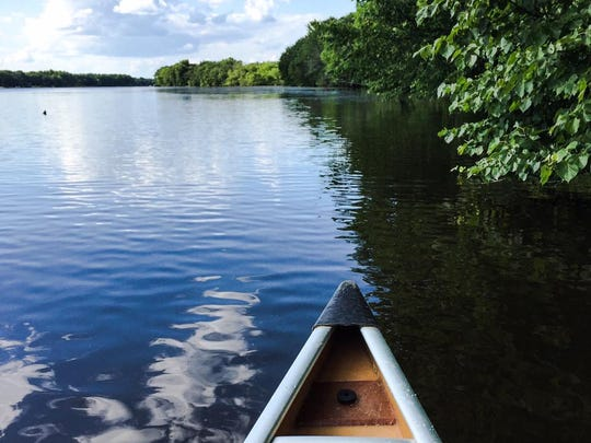 Paddling the Mississippi River (or fishing in it) is a great way to spend a summer day.