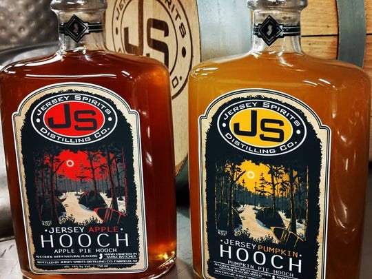 Items from Jersey Spirits Distilling Co.