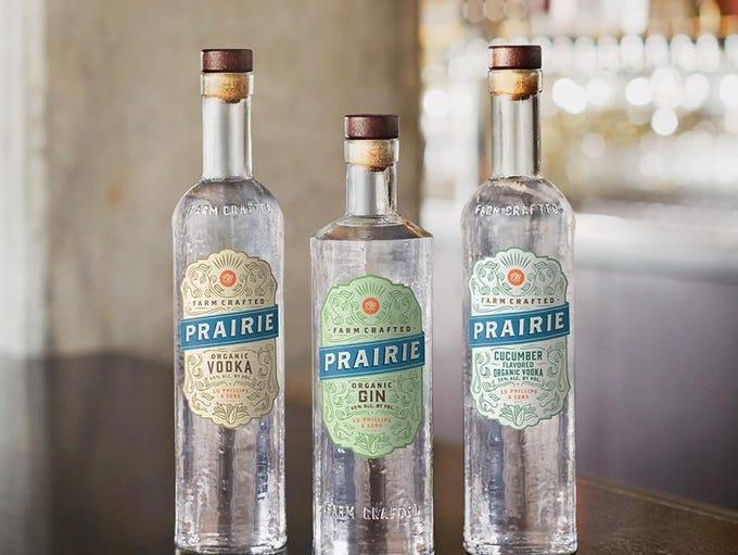 Prairie Organic Cucumber Vodka.