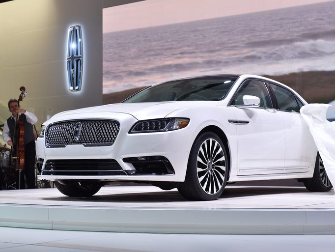 The silk flies off the all new Lincoln Continental