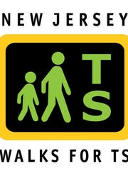 New Jersey Walks for TS logo