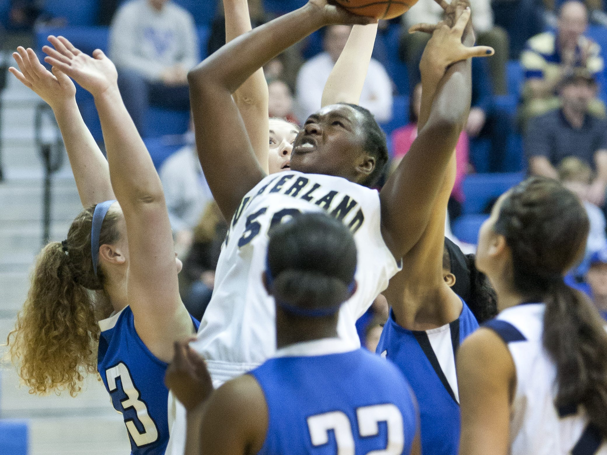 Pittsford Sutherland junior Santita Ebangwese has brought her game to a new level this season.