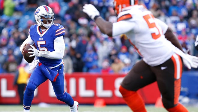 Tyrod Taylor was with Baltimore in 2014, the year Buffalo's new offensive coordinator, Rick Dennison, was the Ravens' QB coach.