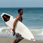 Surfers might have a decent weekend in Brevard.