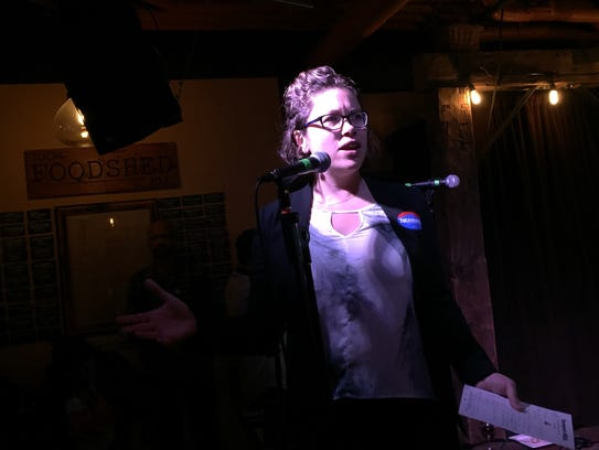 Emma Mulvaney-Stanak, chairwoman of the Vermont Progressive