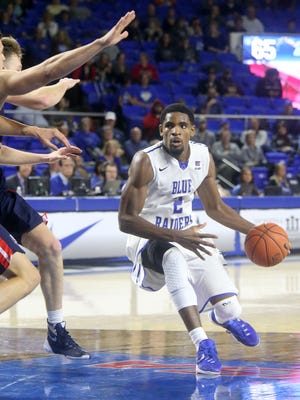 MTSU's Perrin Buford (2) and the Blue Raiders are ready to regroup at Southern Miss.