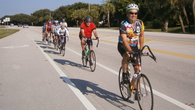 Group Rides for New Riders: 9 a.m. Saturdays at South Beach Park, east of State Road A1A at the end of East Causeway (Alma Lee Loy Bridge). Multiple distance options will be offered ranging from 12 miles to 30 miles. Bicycle helmets are required. www.verocyclingclub.org; 860-985-4823; tadiesel@outlook.com.