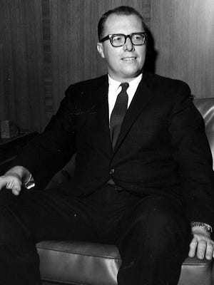 Stanley Dickson, Bell South Kentucky executive, in an undated Courier-Journal photo.