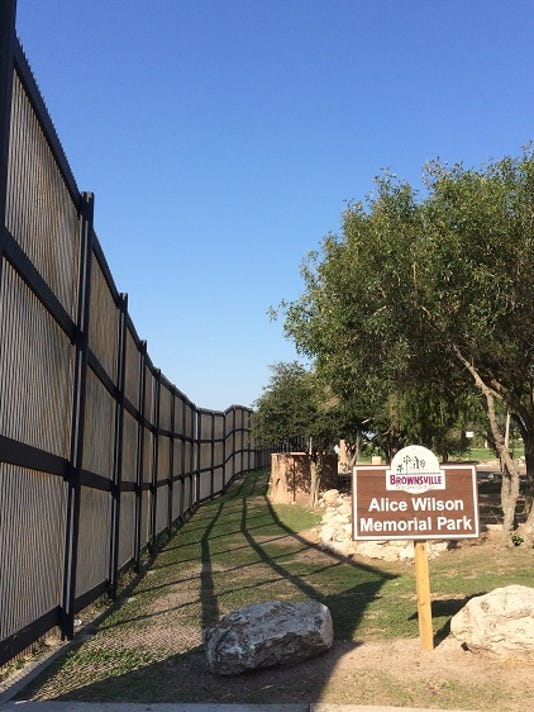 Border fence brownsville