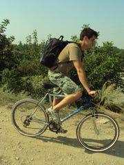 Ankeny native Ryan Cairns, 33, often rode his bike