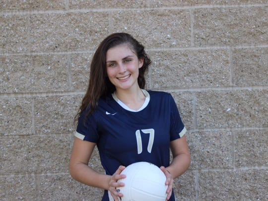 Jessica D'Auria, Our Lady of Lourdes volleyball