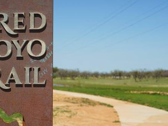 Red Arroyo Trail - photo by City of San Angelo Public Information Office