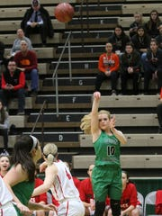 Seton Catholic Central graduate Ava McCann is averaging 4.6 points and 2.1 rebounds for St. Lawrence University.